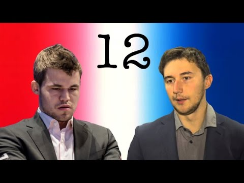 2016 World Chess Championship | Game 12 | Magnus Carlsen vs Sergey Karjakin