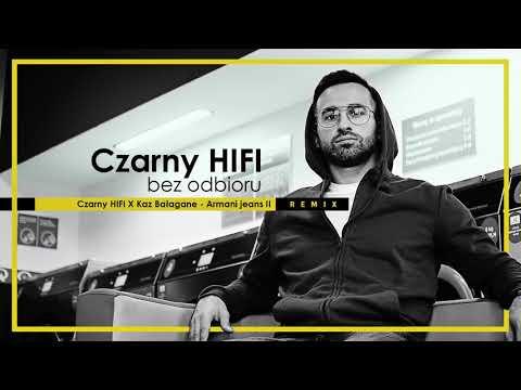 Czarny HIFI x Kaz Bałagane - Armani Jeans RMX