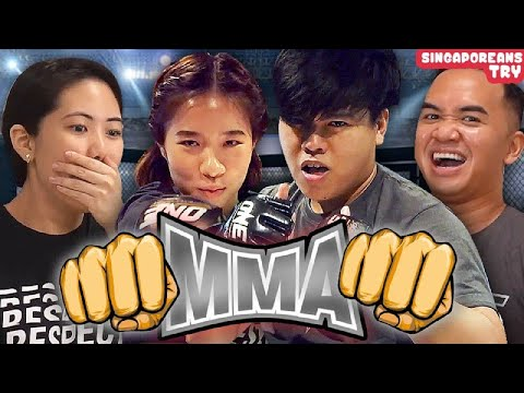 Singaporeans Try: Mixed Martial Arts