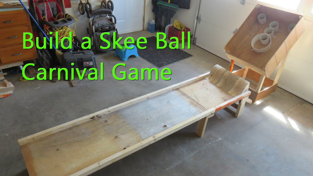 DIY Skee Ball Machine : 6 Steps (with Pictures ...