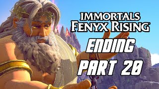 Immortals Fenyx Rising - Gameplay Walkthrough Part 20 'ENDING' (PS5, 4K)