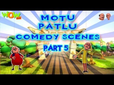 Motu Patlu Comedy Scenes - Compilation...