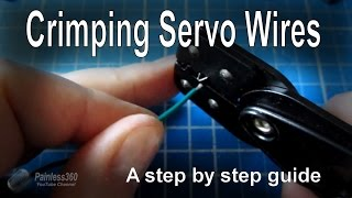 RC Quick Tips - How to crimp servo leads