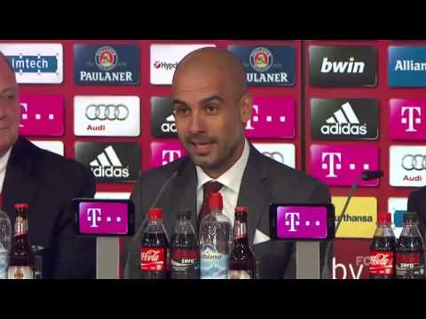 Download Welcome Pep Guardiola -- Review of the first day at Bayern Munchen