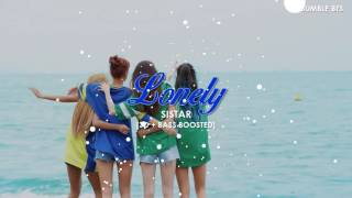Video [3D+BASS BOOSTED] SISTAR - LONELY | bumble.bts download MP3, 3GP, MP4, WEBM, AVI, FLV Maret 2018