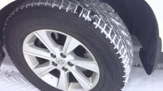Nokian Hakkapeliitta R2 SUV tire on 2011 Toyota Highlander