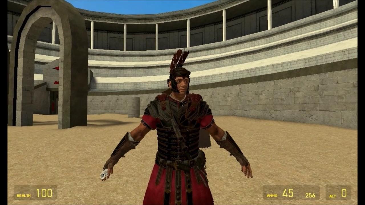 Garrys Mod Roman General Player Model Mod Showcase Review