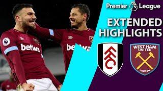 Fulham v. West Ham | PREMIER LEAGUE EXTENDED HIGHLIGHTS | 12/15/18 | NBC Sports