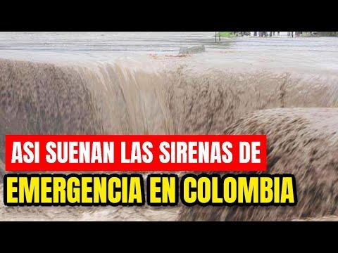 ¡Catástrofe! Las Personas Huyen De Colombia Urgente ¡Suenan Las Sirenas!