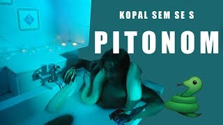 Kopal sem se s PITONOM! - River | Behind the scenes