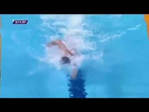 Katie Ledecky: Slow-motion Freestyle