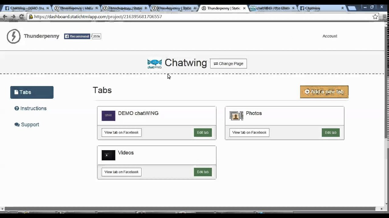 How to Install a Live Chat Room to any Facebook Page - Chatwing ...