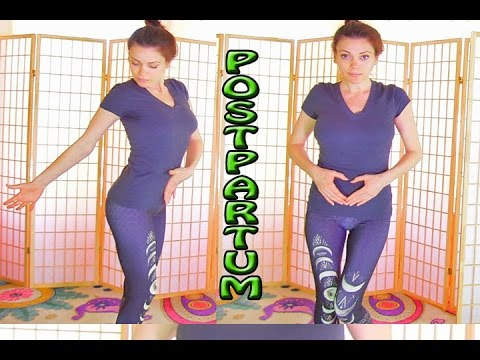 Postpartum Belly and Booty Tone Up CORE Connection Flat Belly