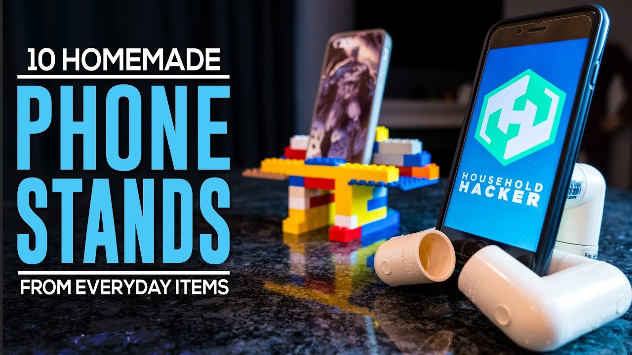DIY Phone Stands From Household Items