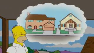 Homer Redesigns The Kitchen