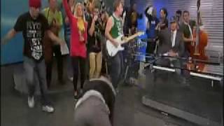 TV2 NORWAY SPORT  DO A STUNT LIVE WITH HOUSE OF PAINS JUMP AROUND P