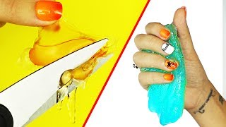 1 & 2 Ingredient Slime Recipes! Testing NO BORAX, NO FACE MASKS | NICOLE SKYES