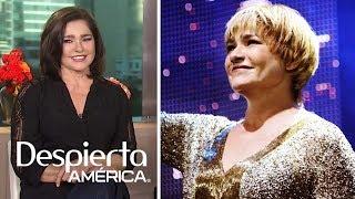 Gabriela Roel interpreta a Lupita D'Alessio con todo y adicciones