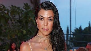 Kourtney Kardashian RESPONDS To Pregnancy Rumors With This Pic