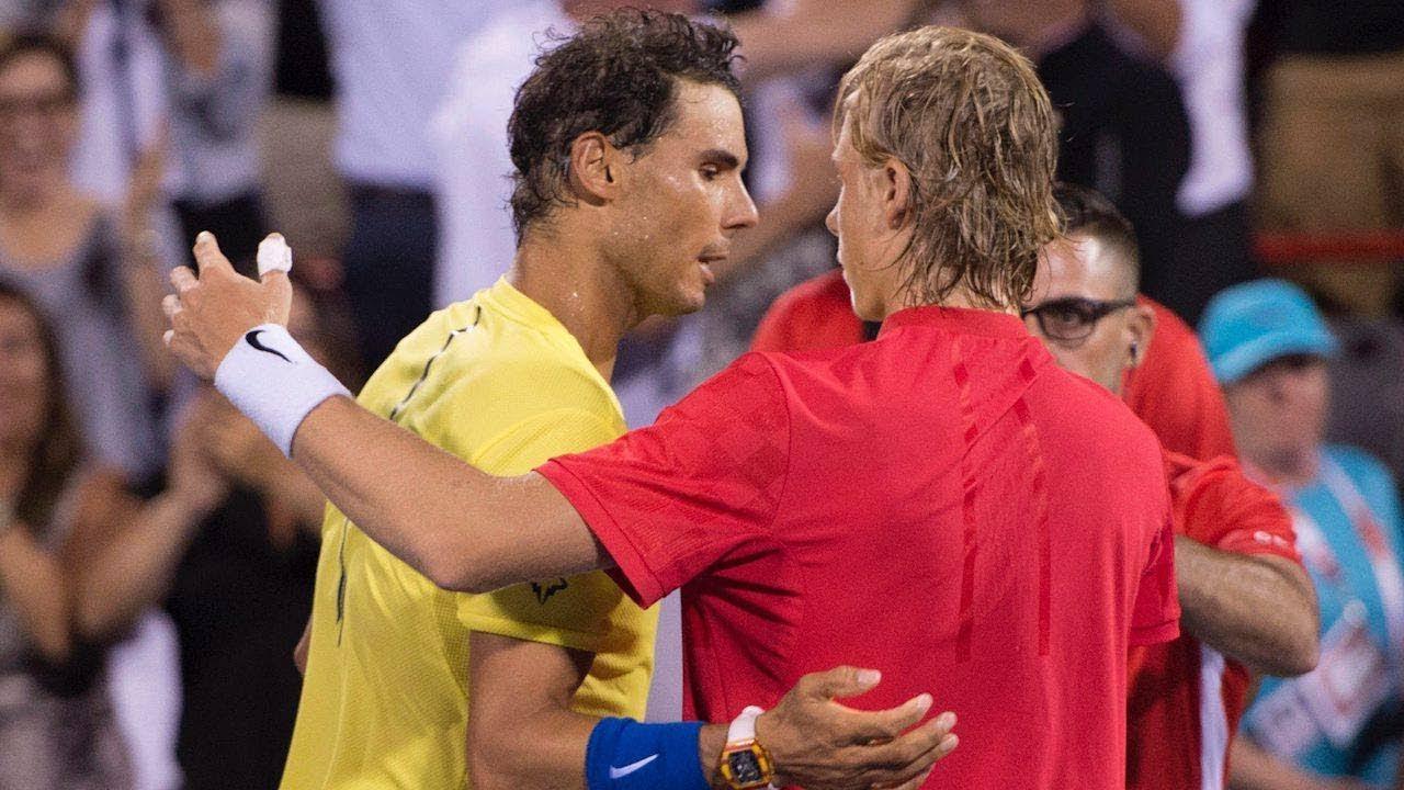 Rafael Nadal Says Denis Shapovalov Has Star Potential Youtube