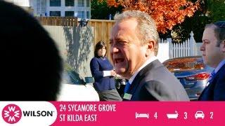 AUCTION - 24 Sycamore Grove, St Kilda East