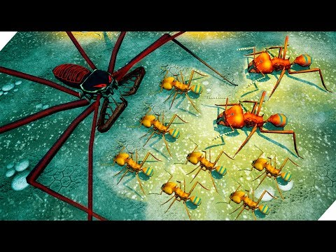 ЭВОЛЮЦИЯ МУРАВЕЙНИКА ! Муравьи-листорезы - Игра Empires Of The Undergrowth. Симулятор муравейника