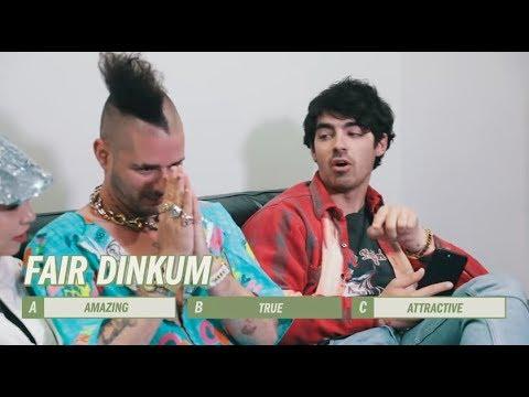 Aussie Expert Joe Jonas Quizzes DNCE | Artists vs Aussie Slang
