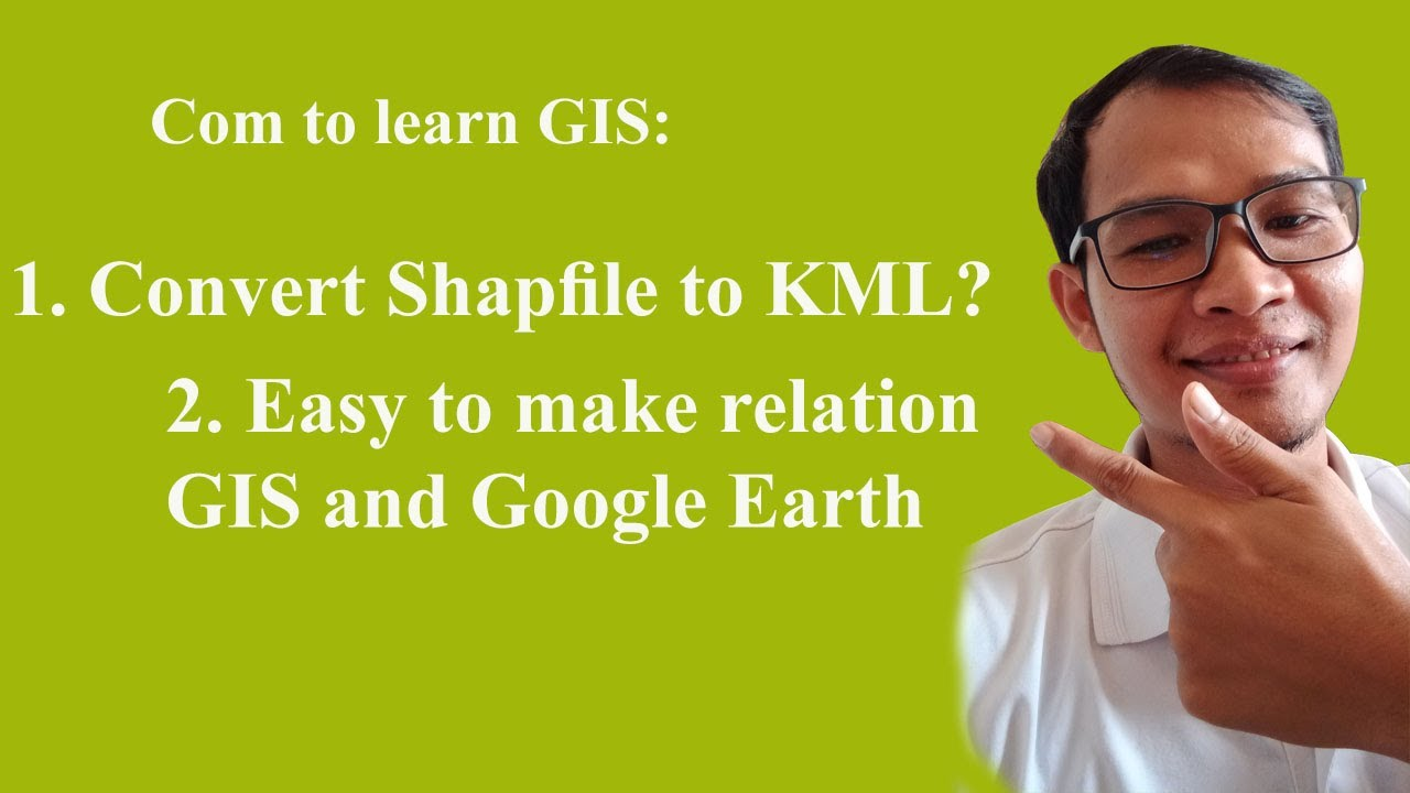 ArcMap 10 1: Open your GIS data in Google Earth by converting Layer to KML  in ArcMap