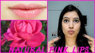 Get Natural Pink And Soft Lips At Home using Rose||TipsToTop By Shalini
