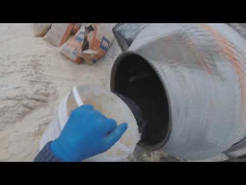 ПРЕДОТВРАЩЕНИЕ  СЫРОСТИ в доме. Заливка черновой бетонной стяжки. Подготовка под теплый пол.