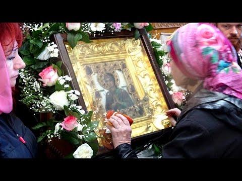 Αποτέλεσμα εικόνας για мироточивая икона Божией Матери «Умягчение злых сердец»