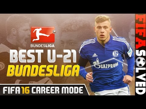 FIFA 16 Best Young U21 Players Potential Bundesliga