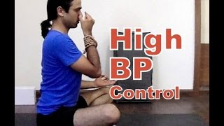 Yoga for Hypertension or High Blood Pressure I Yoga Therapy from Vashistha
