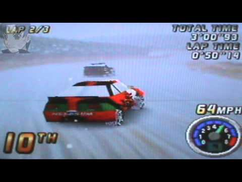 Top Gear Rally N64 Carrera En Jungle Snow Youtube