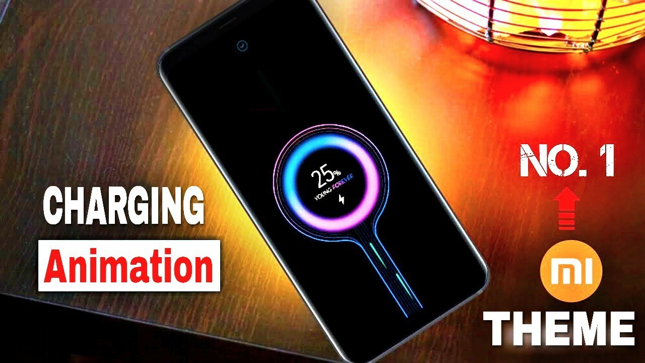 No 1 2019 Theme For MIUI 10 | Best Ever Look Charging Animation | Any  Xiaomi & Redmi Smartphones