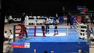 Samir Hesenov - AZE Çempionatı Kikboksinq 2016 3-cü Döyüş ----16.02.2016 ----