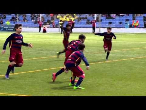 FCB Masia: El Alevín A, campeón del torneo de Burriana ante el Betis (2-1)