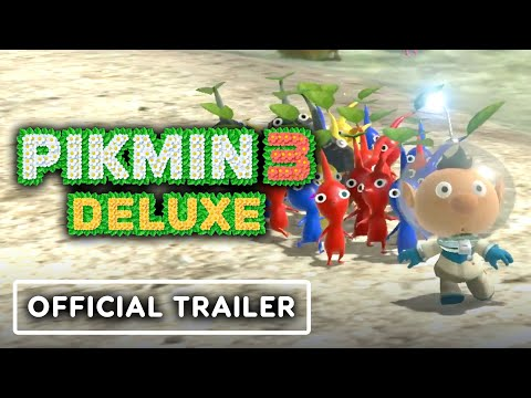 Pikmin 3 Deluxe - Official Announcement Trailer