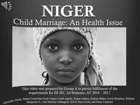 Niger - Child Marriage: A Health Issue