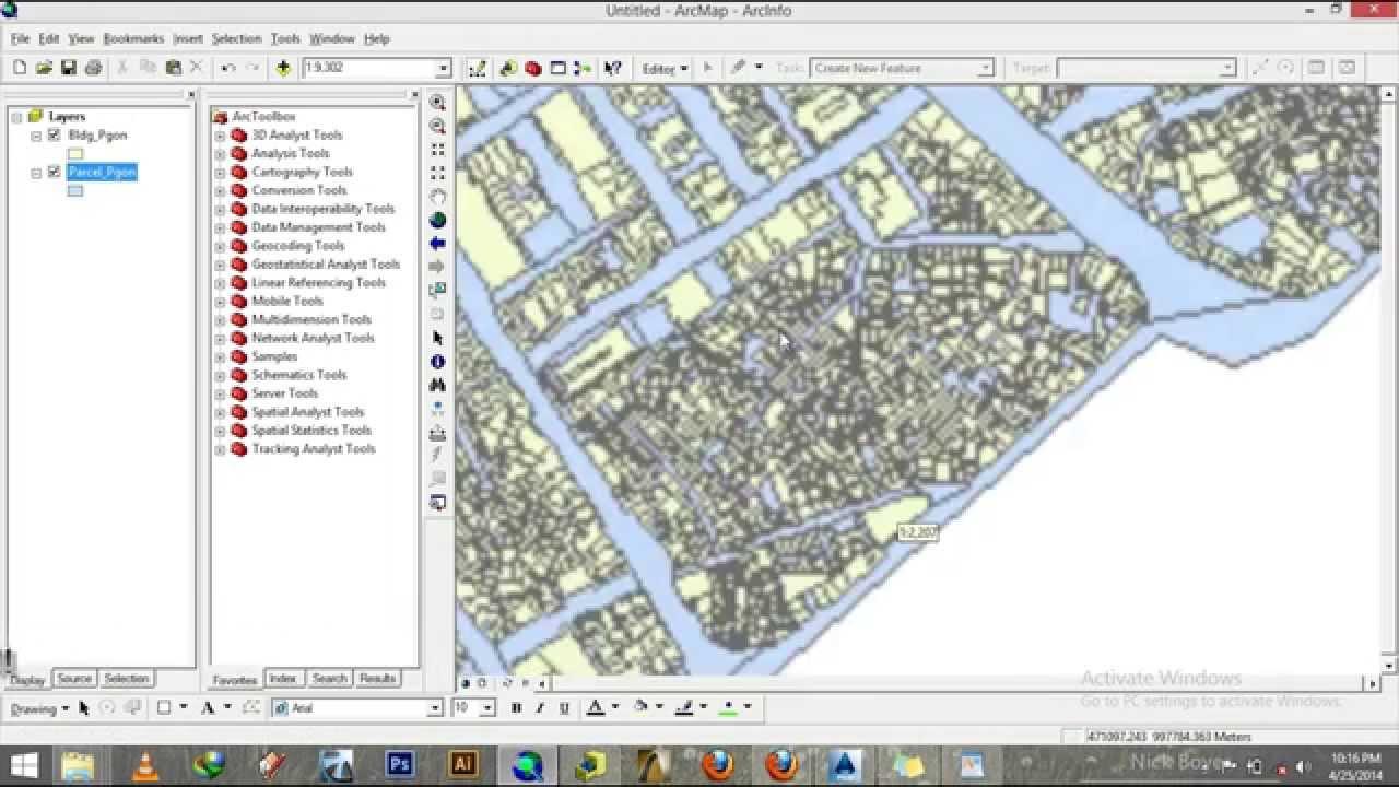 ArcGIS Tutorial - Converting AutoCAD to ArcGIS Geodatabase- EiABC