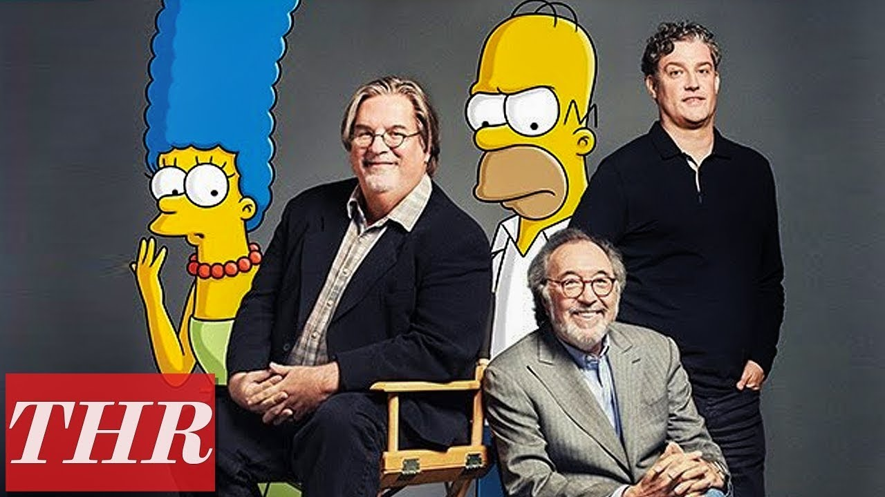 Behind The Scenes Of The Simpsons With David Silverman Thr Youtube