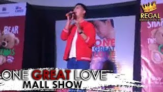 ONE GREAT LOVE MALL SHOW   Marlo Mortel sings Calum Scott's 'You Are The Reason'