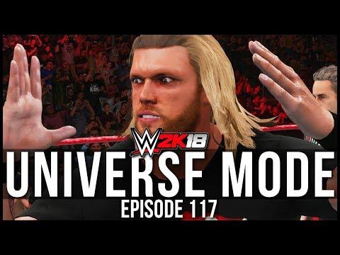 WWE 2K18 | Universe Mode - 'RAW'S SMACKDOWN SHOWDOWN!' | #117