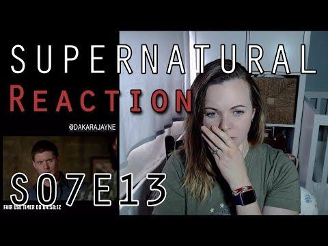 Supernatural Reaction 7x13 | DakaraJayne