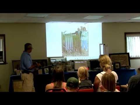 Maurice Sanders, Underground Railroad Days 2014, Vandalia, MI.