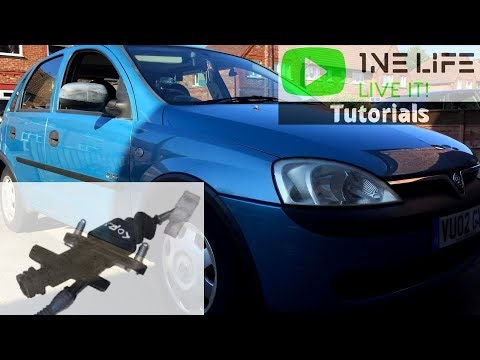 Vauxhall Opel Corsa C - How To Remove And Replace Clutch Master Cylinder