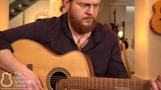 Andrew White Freja 1022 Electro-Acoustic Guitar Played By Ben Smith (Part One)