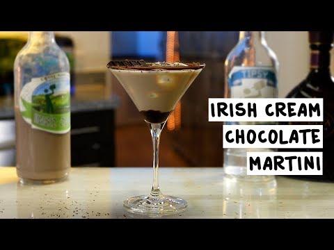 Irish Cream Chocolate Martini