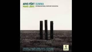Arvo Pärt - Trisagion - Estonian National Symphony Orchestra - Dir. Paavo Järvi (2002)