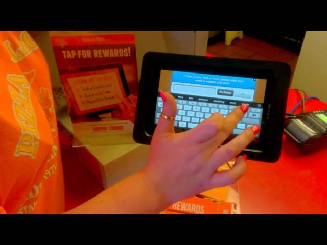 SpotOn Rewards Pizza Palace Seymour Indiana